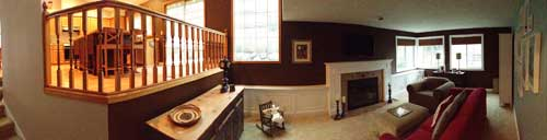 Family Room Panoramic