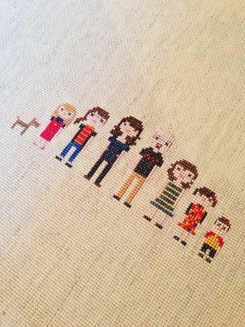 Paul Family Cross-Stitch